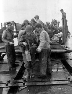American WACs landing in Normandy, 14th July 1944