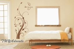 Wall Art - Nursery decal Vinyl Wall Decal Nature Design Tree by TUYAdecals, $29.00
