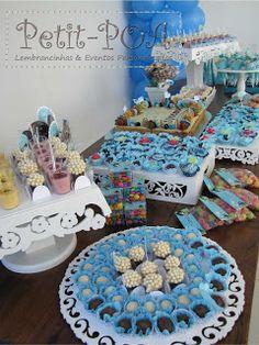 Chá de Bebê Fundo do Mar Petit POA - Eventos & Lembrancinhas Personalizadas: chá de fraldas