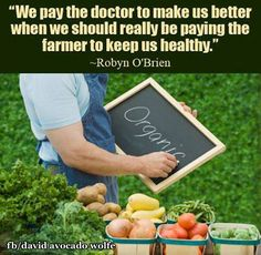 Why Buy and Eat Organic Food vs. Conventional Non-Organic Food? Non Organic, Eating Organic, The New Doctor, Kangen Water, Juice Plus, Healthy Nutrition, Organic Recipes, Farmers Market, Avocado
