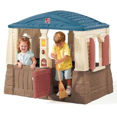 Step2 Neat & Tidy Cottage Playhouse & Reviews | Wayfair