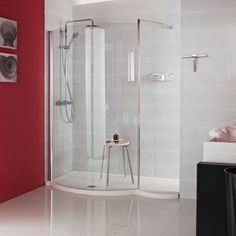 Our Orbital 1700mm Colossus Shower Enclosure featured in the following newspaper articles, press stories and media outlets across the globe; Home & Antiques, Build It & Home Improvement Magazine and Homebuilding & Renovating Magazine. Images copyright Roman Ltd.