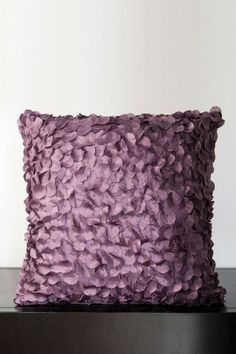 Plum Paillette Pillow cute for a throw pillow