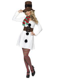 Miss Snowman - Angels Fancy Dress Costumes