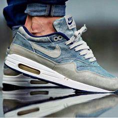Nike Air Max denim - Nike sneakers - mens sneakers - fashion sneakers