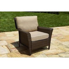 Ty Pennington Ty Pennington Parkside Lounge Chair *Limited Availability* Small Patio Furniture, Outdoor Chairs, Outdoor Decor, Armchair, Lounge, Home Decor, Sofa Chair, Airport Lounge, Single Sofa