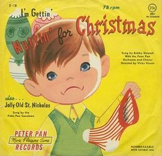 """Fave Five by Jenna Stewart (Dec. 12, 2013) 1. holiday song - """"I'm Gettin' Nuttin' for Christmas"""""""