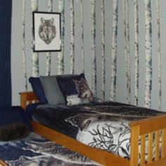 wolf themed bedroom how to decorate a wolf themed 13872 | 1853f9c2cc11740a6fd404f61a64a3e5 a wolf how to decorate