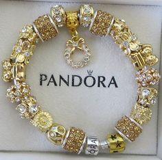 Authentic Pandora Sterling Silver 925 Bracelet by ExquisiteAellas, $150.00