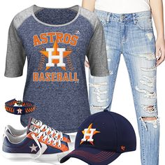 Houston Astros Converse Outfit