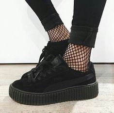 grafika shoes, black, and tumblr