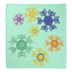 Snowy Holiday Bandana