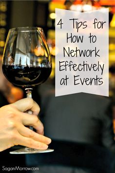 Learn how to network effectively at events in 3 steps (plus a bonus tip!). These networking tips explain why you should ALWAYS leave people wanting more when you meet them at events. Useful for business owners, bloggers, freelancers, and anyone else doing some networking!