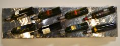 Handcrafted Steel Wine Rack by CopperRack on Etsy, $200.00