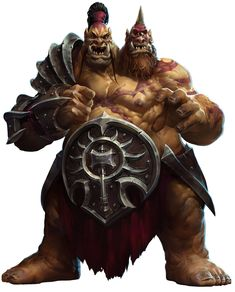 Cho'gall from Heroes of the Storm