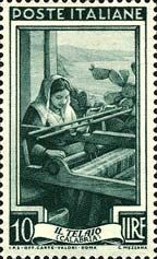 Italy Stamp Emissione 1950