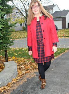 Michael Kors mixed with Leopard and Plaid