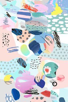 Cutout art mix by Lera Efremova on @creativemarket
