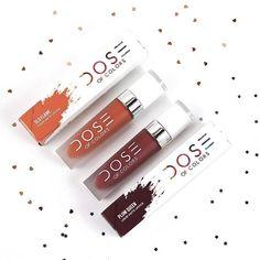 #DoseOfColors #Lipstick #PlumQueen #OldFlame
