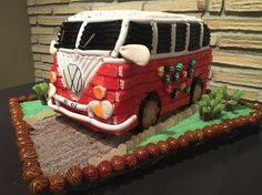 Volskwagen Candy Table, Candy Buffet, Dessert Table, Candy Cakes, Cupcake Cakes, Sweetie Cake, Marshmallow Treats, Candy Pop, Ideas Para Fiestas