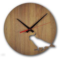 Cockatoo wall clock | hardtofind.