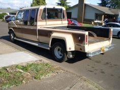 Dually Trucks, Tow Truck, Ford Trucks, Pickup Trucks, Pick Up, Old Campers, Chevy Van, Cool Vans, Custom Vans
