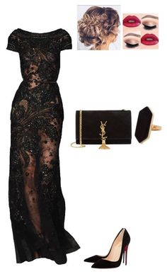 Christian Louboutin, Yves Saint Laurent and Jaeger Classy Outfits, Sexy Outfits, Stylish Outfits, Dress Outfits, Fashion Dresses, Elegant Dresses, Pretty Dresses, Beautiful Dresses, Traje A Rigor