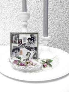 Stilleben - Roses and stamps #vintage #shabbychick #romantiskt