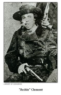 Archie Clement, Confederate guerrilla fighter, child soldier, and founder of his own rebellion cell which would later become known as the James-Younger Gang. American Civil War, American History, Wild West Outlaws, Old West Photos, Confederate States Of America, American Frontier, Civil War Photos, Le Far West, Mountain Man