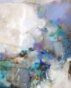 Assis, les pieds dans le vide, je regarde la nuit s'avancer #abstractart