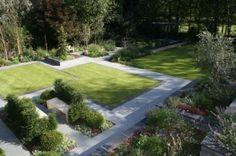 ogród nowoczesny, ogród modernistyczny, ogród minimalistyczny , awangardowy ogród