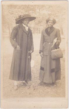 Unknown Women - Black Americana-Antique Photograph, RPPC African American…