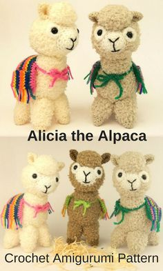 Alicia the Alpaca is a sweet crocheted amigurumi doll that would love to accompany you on your next trip up the mountain. You can create your own Alicia the Alpaca with this downloadable pattern.#crochet#amigurumi#crochetdoll#ad#amigurumidoll#amigurumipattern#alpaca#instantdownload