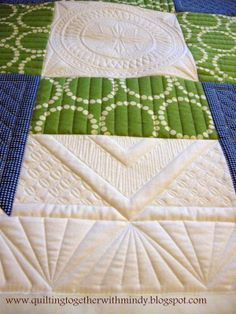 Machine Quilting Quilting Together: Post 43- Quilter's Haven Churn Dash Quilt