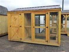 Portable Chicken Coops & Dog Kennels by Better Built Storage Buildings ...