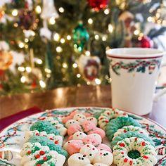 Classic Spritz Cookies | Dulce Dough Recipes