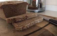 """This is my rye bread recipe. It is easy to make and deliciously wholesome. Bake it and then you judge the shop bought rye breads"""" accordingly. 100 Rye Bread Recipe, Rye Bread Recipes, Rye Flour, How To Make Bread, Banana Bread, Baking, Eve, Breads, Desserts"""