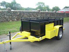 We offer many special options for our trailers like a stone guard, hand winch, color choices and much much more. We can custom build almost any options you need to put on our trailer. New drop bed utility trailer Welding Trailer, Kayak Trailer, Trailer Diy, Trailer Plans, Trailer Build, Utv Trailers, Hauling Trailers, Custom Trailers, Work Trailer