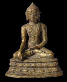 Gilded Bronze Pagan-Period Buddha - Michael Backman Ltd Southeast Asian Arts, 11th Century, Art Institute Of Chicago, Ancient Jewelry, Gems And Minerals, Image Shows, Pagan, Period, Meditation