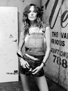 Erin Wasson is ultra-cool in her campaign for PacSun