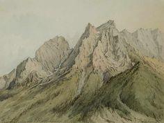 Things of beauty I like to see, Edward Harrison Compton (1881-1960) - Mountain...