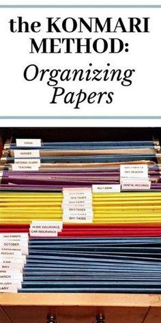Organizing Paperwork, Clutter Organization, Household Organization, Organizing Life, Organizing Paper Clutter, Organization Ideas, Organising, Organize Receipts, Organizing Documents