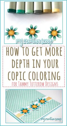 How to get more depth in your Copic Coloring