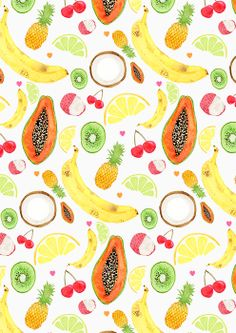 Food Patterns by Laura Redburn