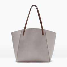 Image 1 of COMBINED SHOPPER BAG from Zara