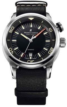 @mauricelacroix Watch Pontos S Diver #bezel-fixed #bracelet-strap-leather #brand-maurice-lacroix #case-material-steel #case-width-43mm #date-yes #delivery-timescale-call-us #dial-colour-black #gender-mens #helium-valve-yes #luxury #movement-automatic #official-stockist-for-maurice-lacroix-watches #packaging-maurice-lacroix-watch-packaging #style-divers #subcat-pontos #supplier-model-no-pt6248-ss001-330 #top-twelve-diver #warranty-maurice-lacroix-official-2-year-guarantee…