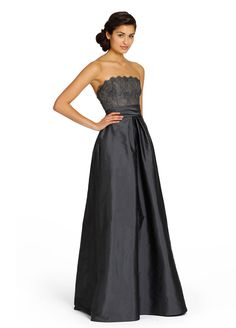 Def not doing long tho Dresses by Jim Hjelm Occasions - Style Winter Bridesmaid Dresses, Winter Bridesmaids, Bridesmaid Dress Styles, Bridal Wedding Dresses, Wedding Bells, Jim Hjelm Occasions, Def Not, Princess Ball Gowns, Special Occasion Dresses
