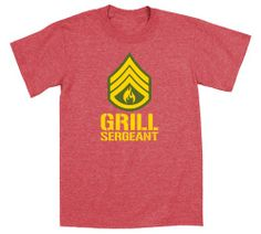 Having a BBQ this summer? This t-shirt is perfect for the grill master!! Grill Sergeant Military BBQ Master Funny - Mens T-Shirt - LC Trendz - funny - food - men's fashion