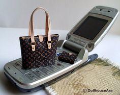 Dollhouse Miniature Louis Vuitton