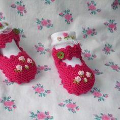 Ballerines en tricot style babies et petites chaussettes 6 mois